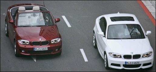 BMW 1-Reeks Coupé Cabrio Facelift