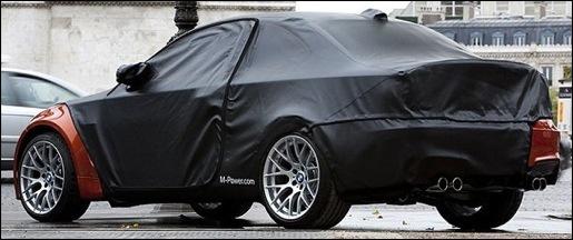 BMW 1-Reeks M Coupé Teaser Parijs