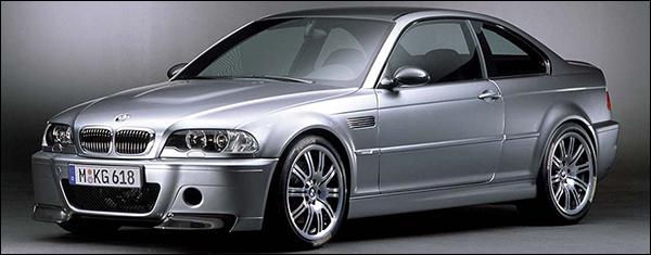 BMW M3 CSL 10 jaar