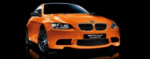 BMW M3 Competition Package Fire Orange
