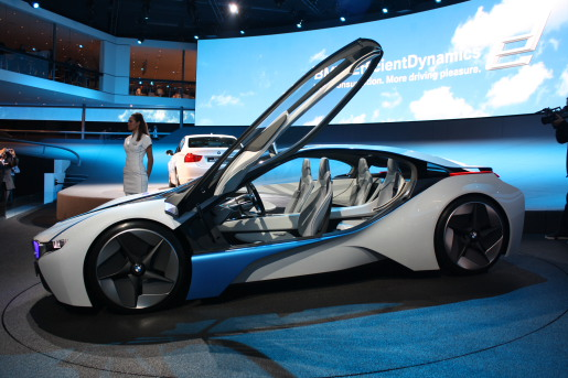 Frankfurt 2009: BMW Vision EfficientDynamics Concept