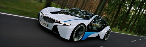 BMW i8 Vision Efficient Dynamics