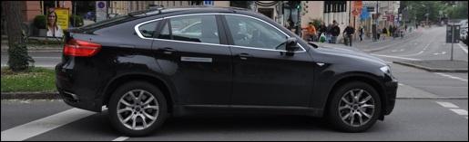 Gespot BMW X6 Hybride