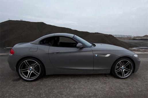 BMW Z4 matgrijs