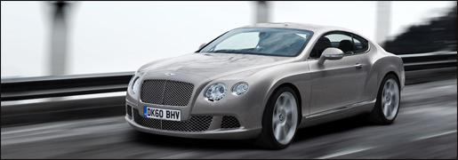 Bentley Continental Facelift