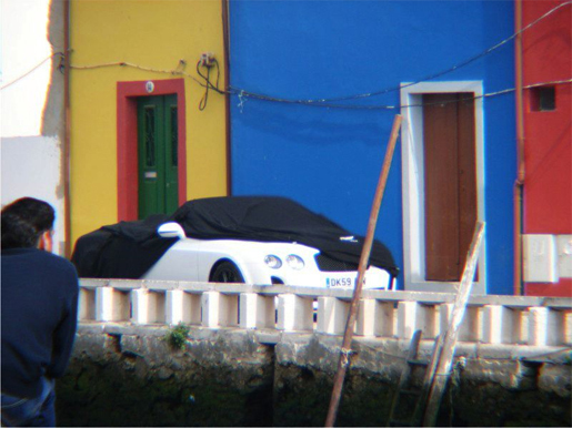 Spyshots Bentley Continental Supersports Convertible