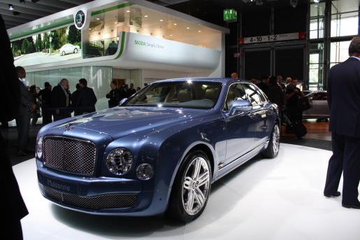 Bentley Mulsanne IAA Frankfurt 2009