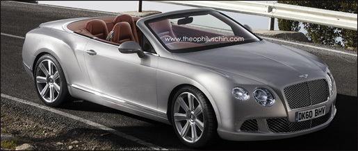 Bentley Continental GTC Facelift
