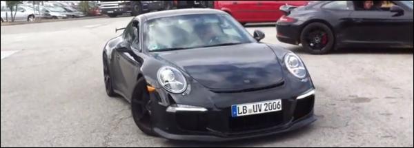Porsche 911 GT3 991 Betrapt Spyshot spyvideo