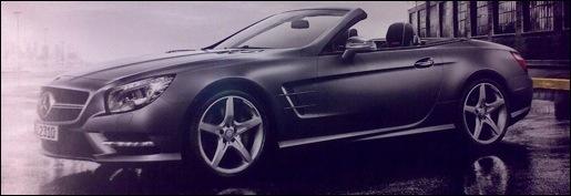 Mercedes SL Brochure