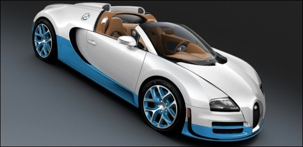 Bugatti Veyron Grand Sport SE Pebble Beach