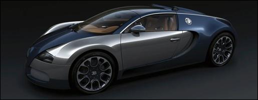 Bugatti Veyron Grand Sport Sang Blue