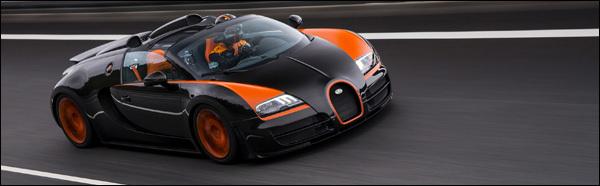 Bugatti Veyron World Record Car