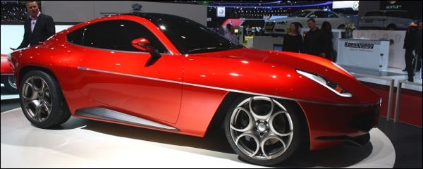Disco Volante by Touring Superleggera
