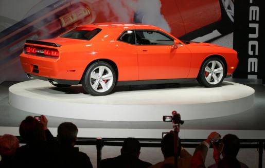 Autosalon Chicago: Dodge Challenger SRT8
