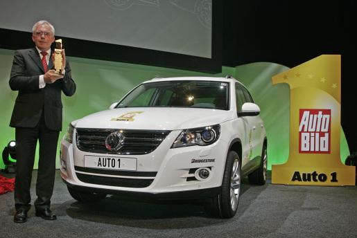 Volkswagen Tiguan SUV van het jaar