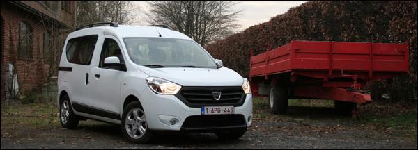 Dacia Dokker test 1.5 dCI 75