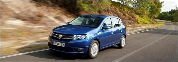 Nieuwe Dacia Sandero 2013