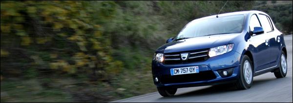 Dacia Sandero Stepway Logan 2013 test