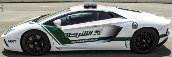 Lamborghini Aventador Police Dubai