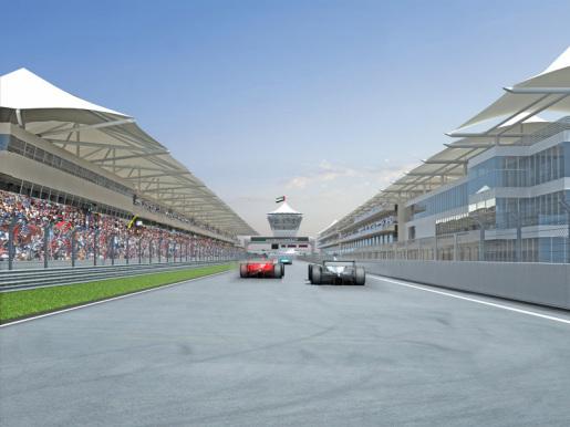 Yas marina circuit F1