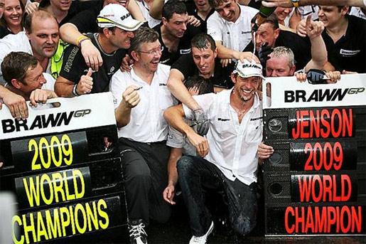 Formule 1 - Jenson Button
