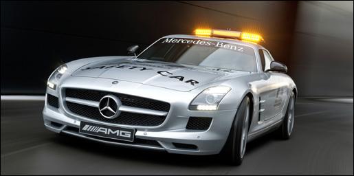 SLS AMG safetycar