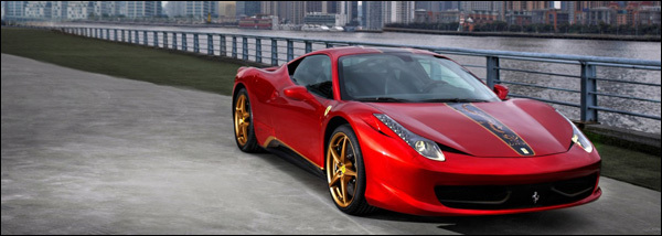 Ferrari 458 20 Jaar China