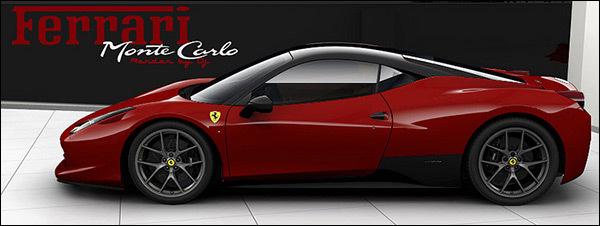 Ferrari 458 Monte Carlo