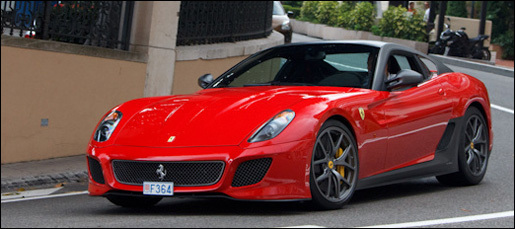 Ferrari 599GTO\'s Monaco