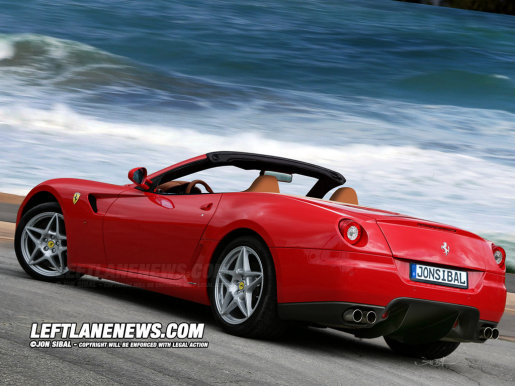 Preview: Ferrari 599 GTS Barchetta | GroenLicht.be