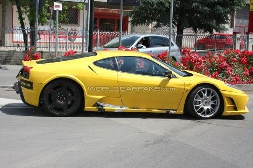 Ferrari F430 Mule Spyshots