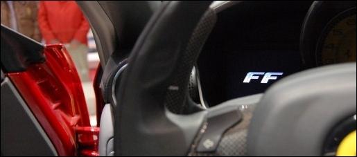 Ferrari FF Interieur
