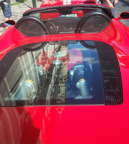 Ferrari combo tsjechie 550 360