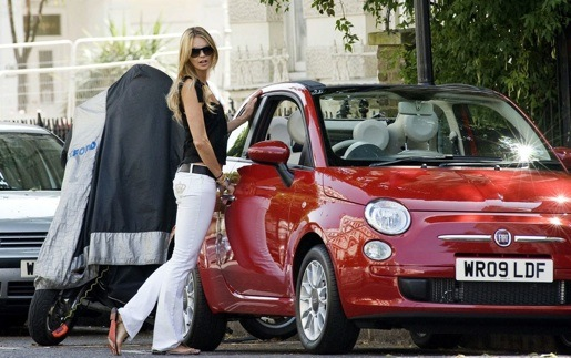 Fiat 500C Elle Macpherson