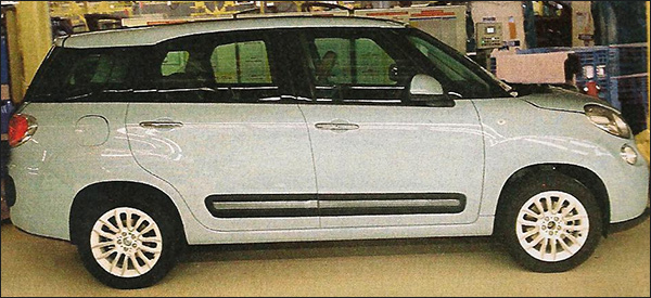 Gelekt Fiat 500 XL