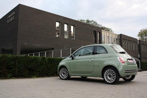 Fiat 500 Rijtest