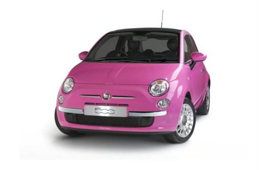 Roze Fiat 500: Ultieme Barbiewagen  GroenLicht.be