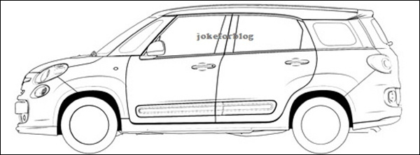 Preview Fiat 500XL