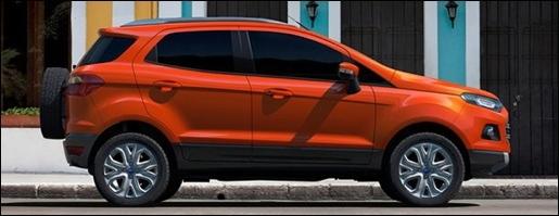 Ford EcoSport SUV Fiesta 2012