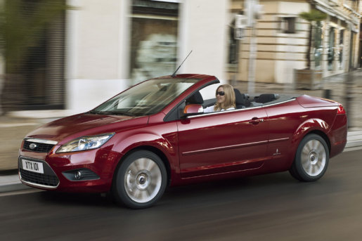 Ford Focus Coupé-Cabrio Facelift