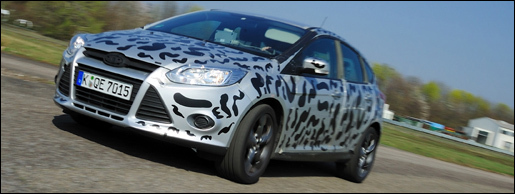 Ford Focus ST Testing