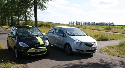 duo test ford ka vs opel corsa ecoflex. Black Bedroom Furniture Sets. Home Design Ideas