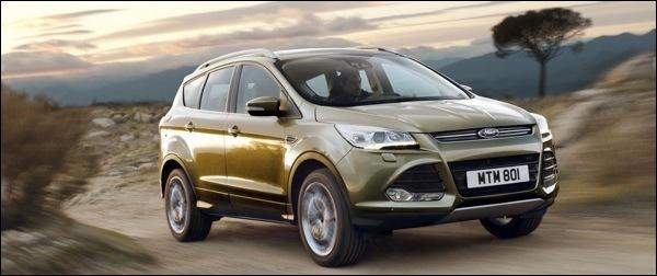 Nieuwe Ford Kuga 2013
