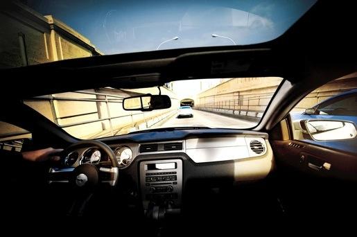 Ford Mustang Panoramisch Zonnedak