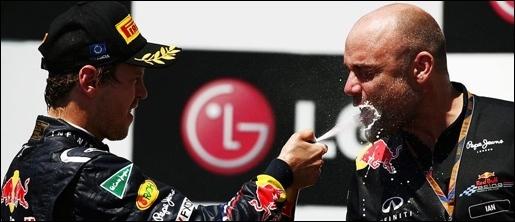 Vettel Wins Header