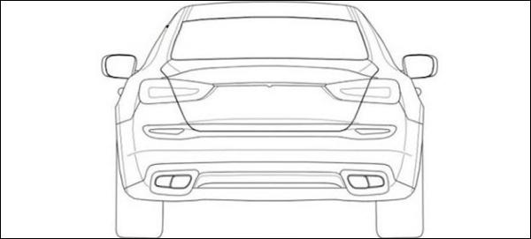 Nieuwe Maserati Quattroporte 2014 Patentfotos