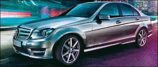 Gelekt Mercedes C-Klasse Facelift