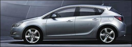 Gelekt: Nieuwe Opel Astra 2010