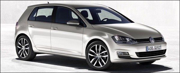 Gelekt Volkswagen Golf VII 7 2013